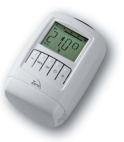 Energy-saving radiator thermostat